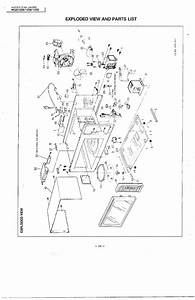 Complete Microwave Oven Diagram  U0026 Parts List For Model