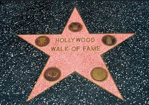 Hollywood Walk Of Fame - List of Rock 'N Roll Stars On The