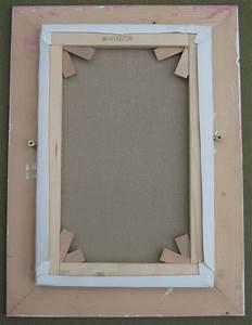 Cadre Pour Plusieurs Photos : fixer un tableau dans son cadre fixer le paquet ~ Teatrodelosmanantiales.com Idées de Décoration