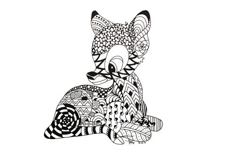 zentangles  animals clipart