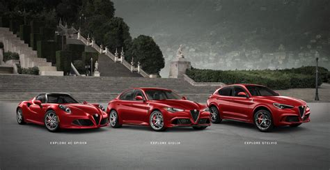 Alfa Romeo Cars by Alfa Romeo Sports Cars Suvs Official Alfa Romeo Site