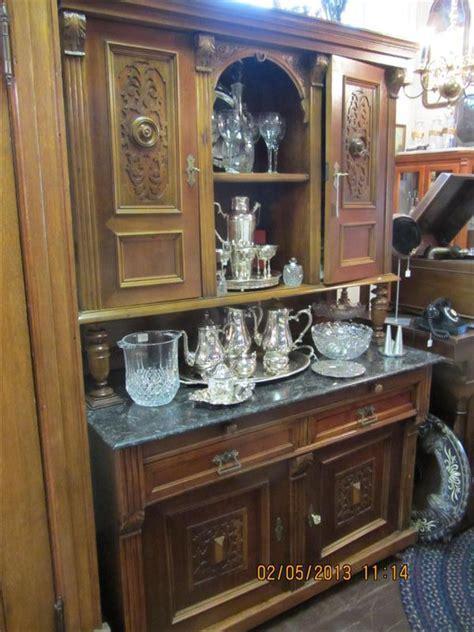1800's German Walnut Breakfront   Yesterday's Treasures