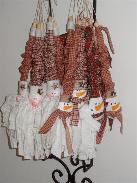 items similar  wooden spoon rag santa rag snowman