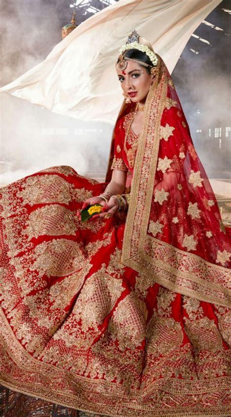 bridal colour lehenga trends  indian fashion mantra