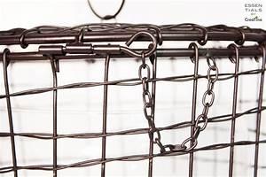 Metallkorb Mit Deckel : creatina metallkorb mit glasvase 2 teilig zum hinstellen und aufh ngen ~ Orissabook.com Haus und Dekorationen