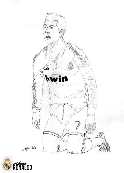 Kleurplaat Ronalda by Drawing Cristiano Ronaldo By M0t0rbr3ath On Deviantart