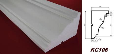 Baustoff Polystyrol Schnell Flexibel Und Leicht In Der Verarbeitung by 2 Meter Fassadenprofil Dekorleiste Gesims Sto 223
