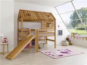 Hochbett Selber Bauen 90x200 : bett mit rutsche wandgestaltung wohnzimmer junior loft ~ Michelbontemps.com Haus und Dekorationen