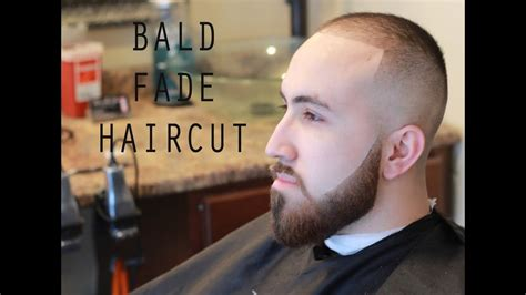 bald fade haircut  beard skin fade   shape