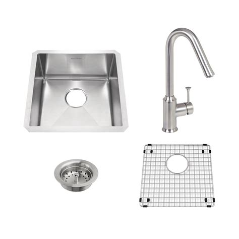 american standard undermount kitchen sinks american standard pekoe all in one undermount stainless 7446