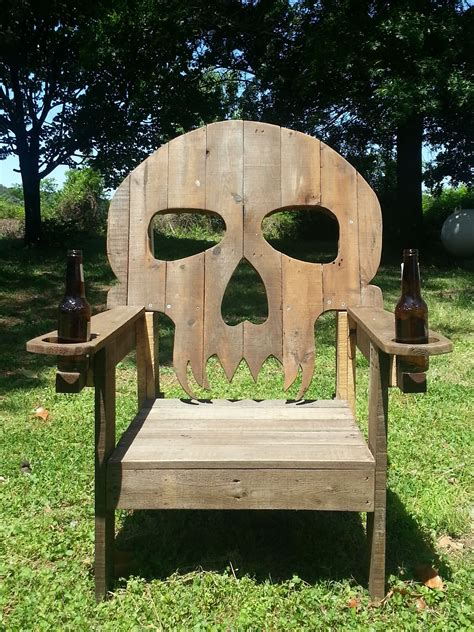 made out of pallets pallet skull chair pallet ideas pallet wood pallets