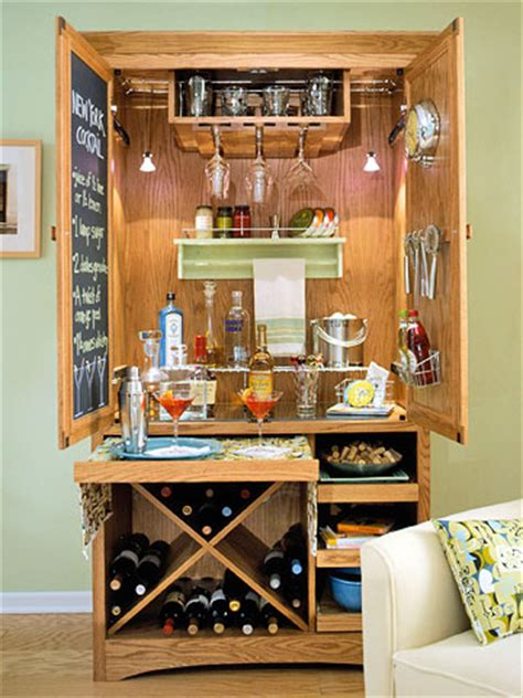 Armoire Cabinet Into A Bar by Aprons And Apples Re Purpose An Armoire Or Stand