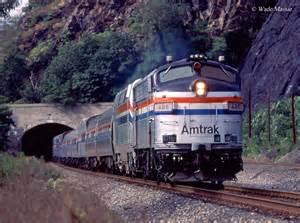 Amtrak Passenger Train