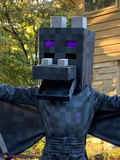 diy minecraft ender dragon costume photo