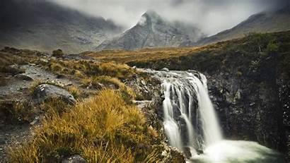 Scotland Highlands Scottish Skye Isle Misty Mist
