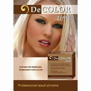 DECOLOR HairColor RemoverSystem For Colour Removal From A