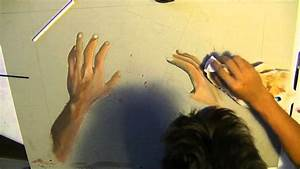 First person falling painting: PART 2 - YouTube