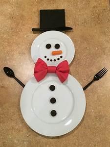 a snowman place setting thriftyfun