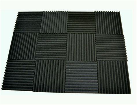 96 pack acoustic contractors foam tiles 1 x 12 x 12