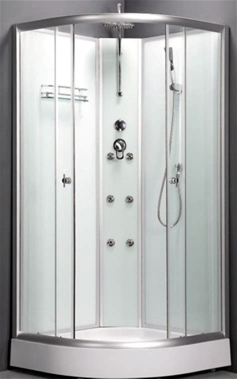 Complete Shower Units by Shower Cabin Enclosure Cubicle Corner 80cm