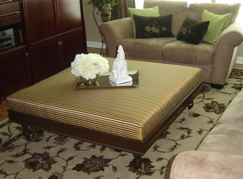 Cloth Ottoman Coffee Table by Vast Selections Of Oversized Coffee Tables Homesfeed