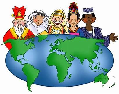 Social Studies Clipart Global Community Map Clip