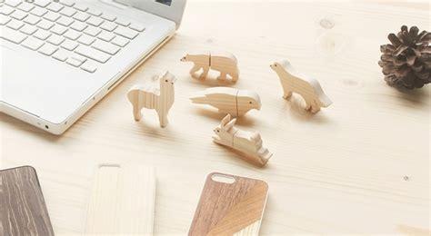 waste   money wooden animal usb flash drive