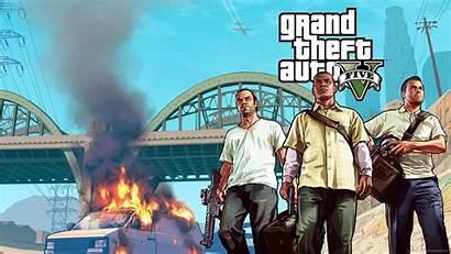 Gta Van Burning Guys Three