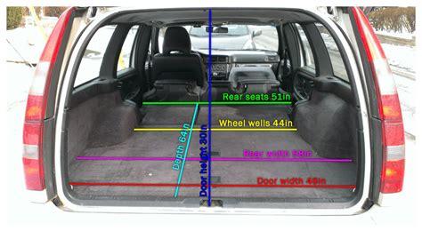 wagon cargo dimensions