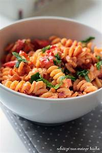 Schätze Aus Meiner Küche : tomaten ricotta nudeln mit basilikum reklame sch tze aus meiner k che ~ Markanthonyermac.com Haus und Dekorationen