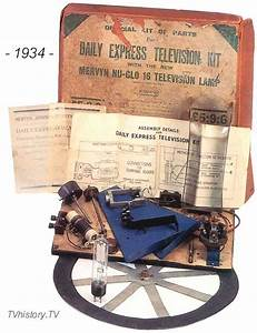1934 Mechanical Television Kit  U0026quot Daily Express U0026quot