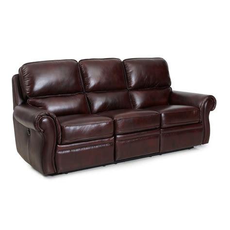 barcalounger oliver ii power sofa lauderdal mahogany