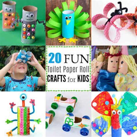 toilet paper roll crafts  kids  fun toilet paper