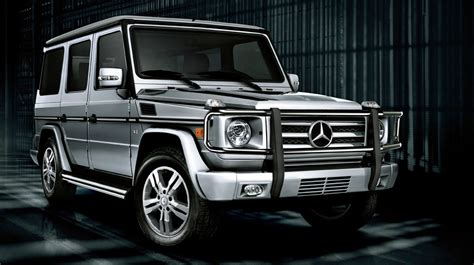 Mercedesbenz Gclass And Jeep Wrangler Unlimited A