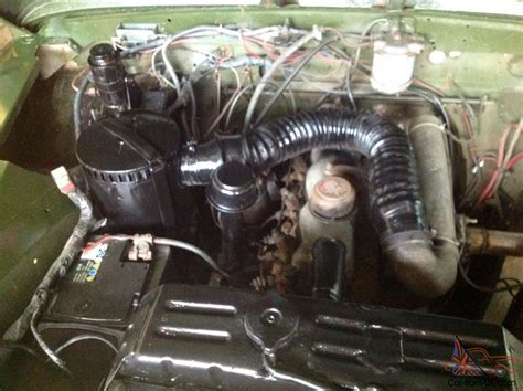 Land Rover Series 2 2.25 Diesel Rebuilt On Galvanised