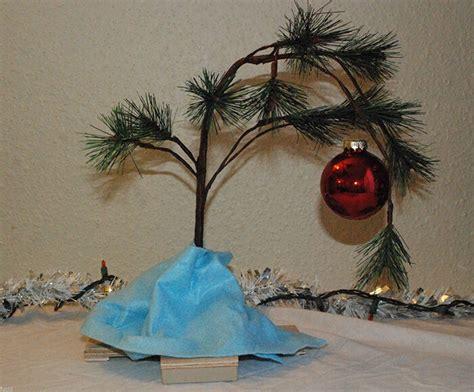 large charlie brown christmas tree diy brown tree ebay