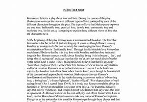 Romeo and juliet essay essay on cheating possible romeo and juliet ...