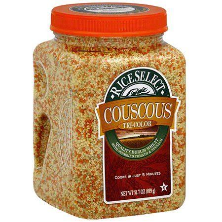 rice select tri color couscous  oz pack