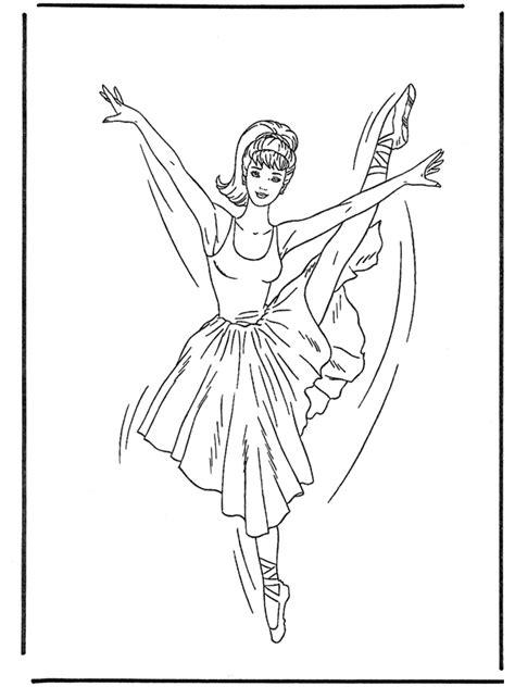 ballerina  malvorlagen ballett