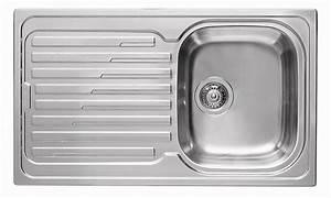 Spülbecken Für Küche : k chen einbausp le 86x50cm waschbecken edelstahl ~ A.2002-acura-tl-radio.info Haus und Dekorationen