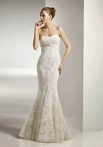 gorgeous photos of simple lace wedding dresses sang maestro With simple lace wedding dress