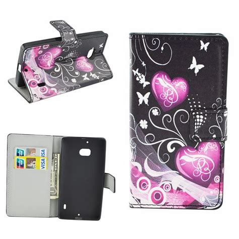 flower flip leather wallet phone cases for microsoft nokia lumia 650 640 lite 630 635 535