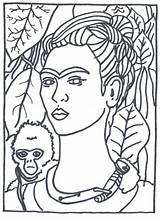 Coloring Portrait Self Printable Getcolorings sketch template