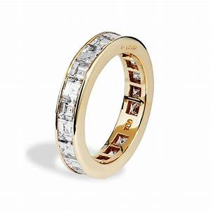 wedding rings with diamonds With wedding band around engagement ring