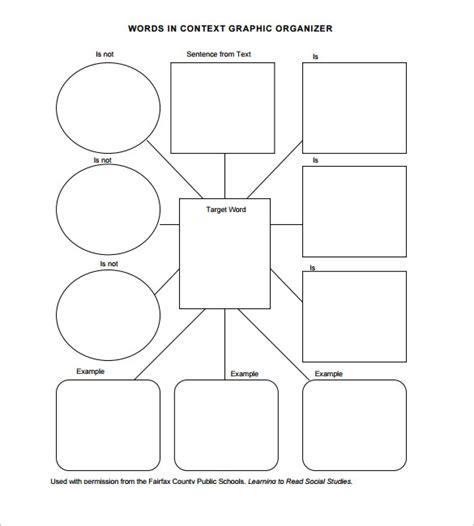 graphic organizer templates for microsoft word 7 blank vocabulary worksheet templates word pdf free premium templates