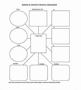 blank vocabulary worksheet worksheets releaseboard free With graphic organizers template word