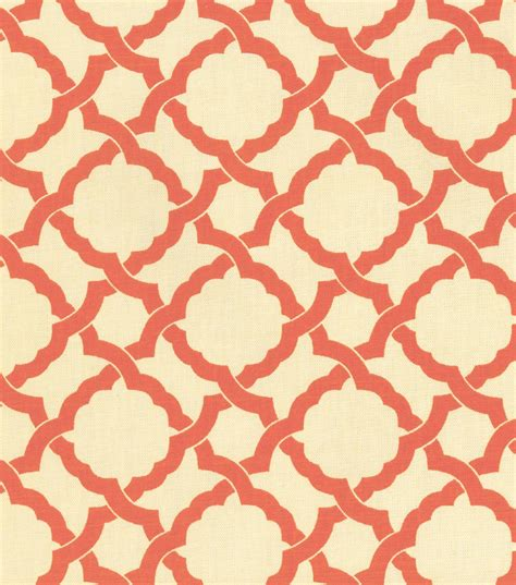 Coral Upholstery Fabric by Upholstery Fabric Waverly Kent Crossing Coral At Joann
