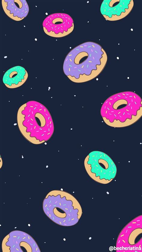 A collection of the top 32 cute donut wallpapers and backgrounds available for download for free. Donuts Hintergrundbilder 😍 - WALLPAPER - | Niedliche hintergrundbilder, Hintergrundbilder ...