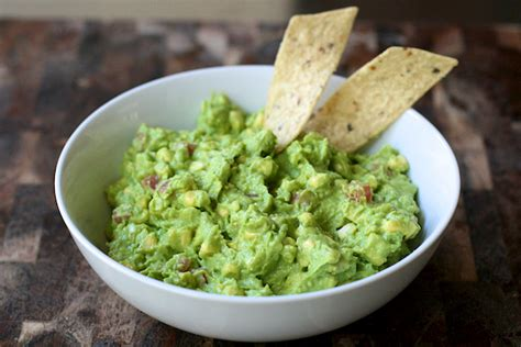 dips cuisine tailgate food guacamole dip with fresh corn the merry