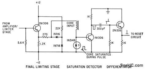 Pulse Width Encoder Power Supply Circuit